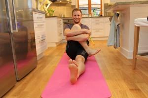 Stretch av stora sätesmuskeln