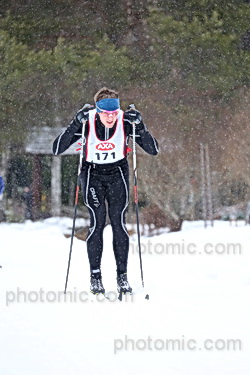 Snöandet började efter Hökberg