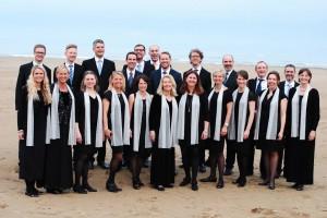 Stockholm Singers efter Grand Prix-vinsten på Venezia in Musica 2015