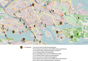 TT:s Stockholm Marathon-karta 2015