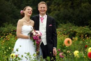 Aida och jag på vår bröllopsdag 1 September 2012, 92 kg tung