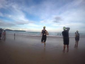 """Upp ur vattnet på CLP för en """"australian exit"""" ned i en sötvattenslagun"""