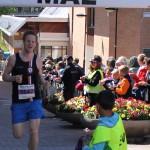 """Glad över att passera mållinjen Foto: Aida """"världens bästa supporter"""" Ericsson"""