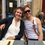 Lunch in Aix-en-Provènce the day before race day with my wonderful wife!